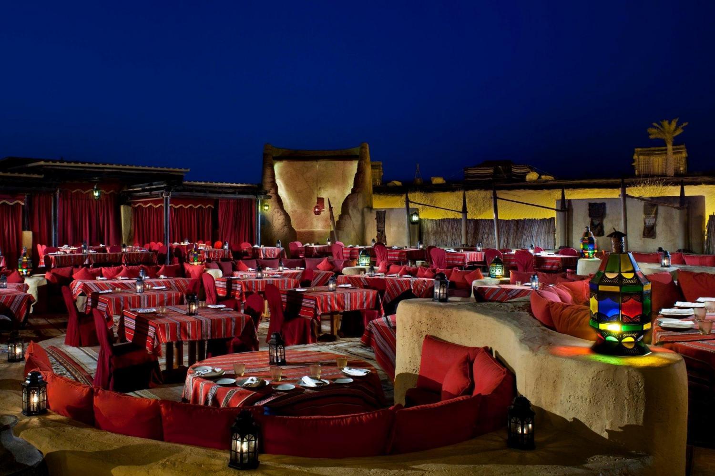 Dining Experience At Al Hadheera Bab Al Shams Daytur Com