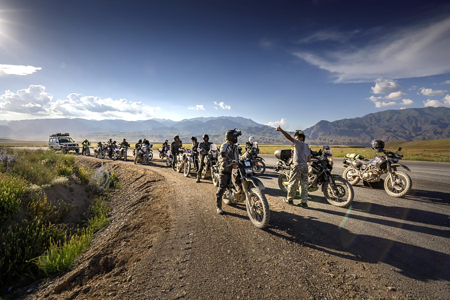 Kyrgyzstan Explorer - Compass Expeditions Adventure Motorcycle Tours