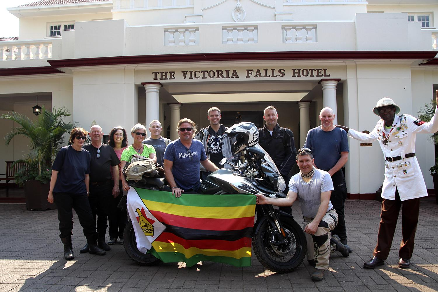 Charley Boorman Victoria Falls To Cape Town