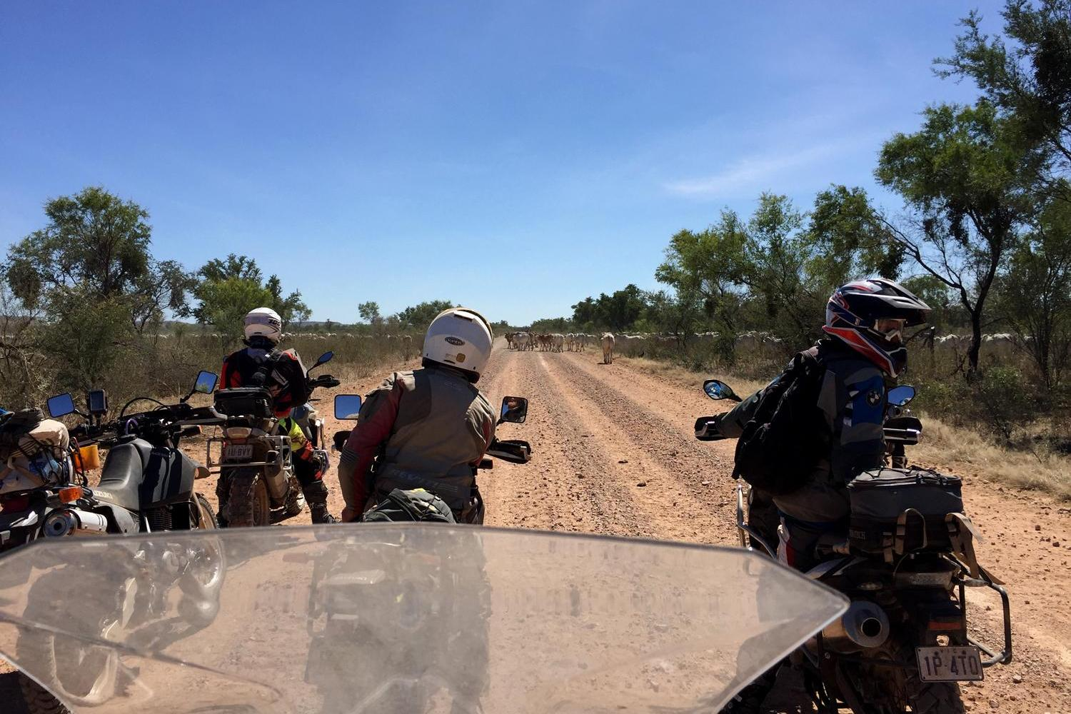 Reef to Red Centre Motorcycle Tour