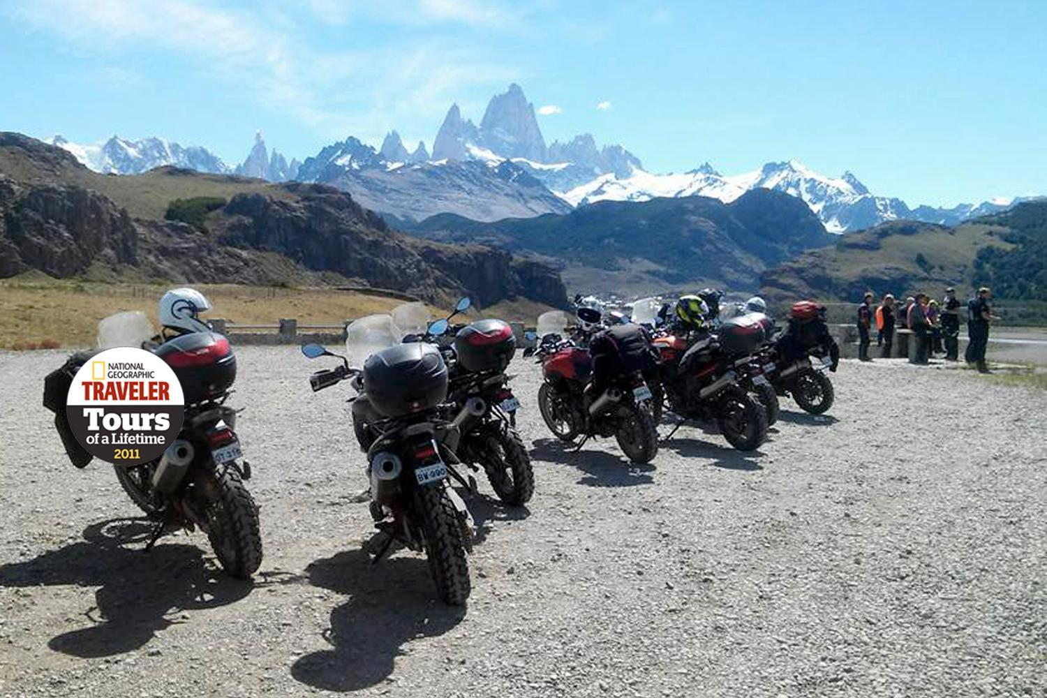 Patagonia Explorer - Compass Expeditions Adventure Motorcycle Tours