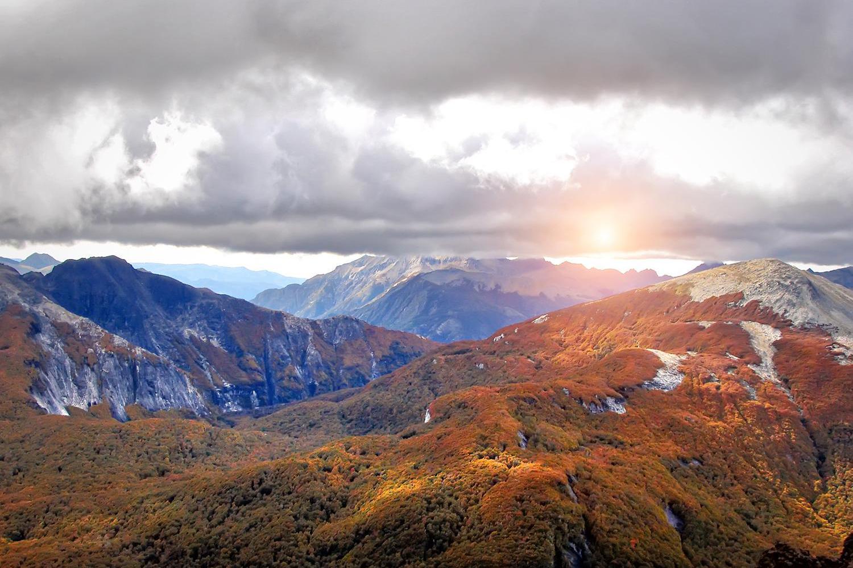 Patagonian Sunset, Argentina