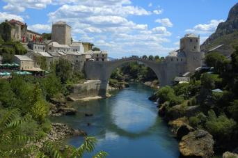 Day Tour to Mostar, Pocitelj and Kravice Waterfalls from Split; return (full day)
