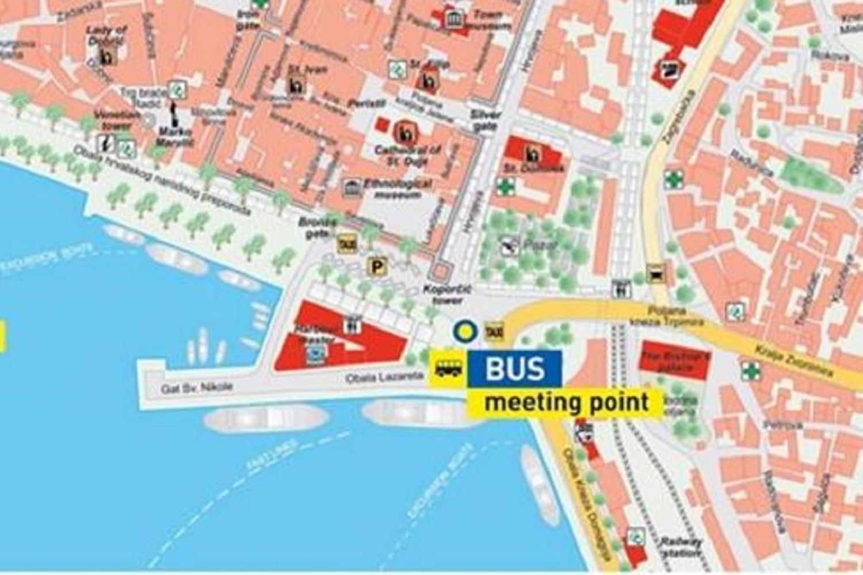Bus meeting point Split