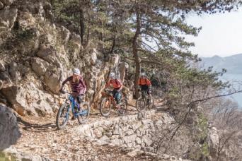 Hotel & Bike Tour: Mountain Bike Krk to Krk 6nts (Saturdays)