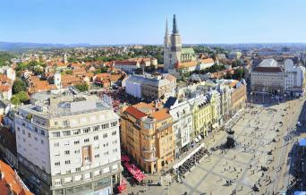 One Journey 4 (5) Countries Escorted Coach Tour Zagreb to Zagreb 10nts (Wednesday-Saturday)