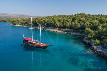 Gulet Tango Private Charter (7 cabins)