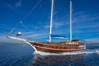 Gulet Atalanta Private Charter (7 cabins)