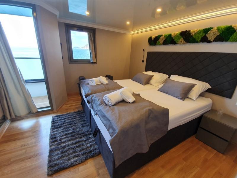 MS Antaris balcony cabin