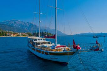 Cabin Charter on a Gulet from Tivat Montenegro, return 7nts (Sundays)