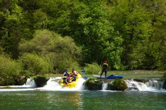 Clear Rivers Multi-Activity Adventure Guided Tour Zagreb to Zagreb 7nts (Saturdays; on request)
