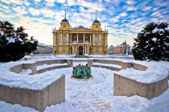 Croatian Winter Break Small Group Tour; Zagreb to Split 6nts (Jan-March)