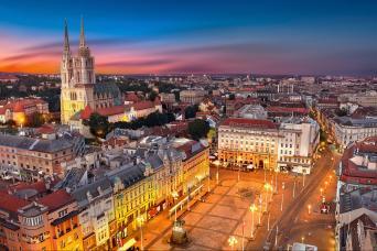 Croatia & Bosnia Small Group Tour Zagreb to Dubrovnik 12nts (Sunday-Friday 10May & 13Sep 2020)