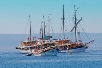 Young Fun 18-30s Croatia Sail Cruise on Traditional Ships Split to Split 7nts (Saturdays)