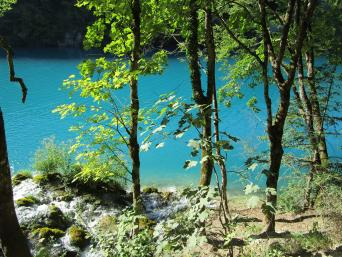 Day Tour to Plitvice Lakes from Zagreb; return (full  day)