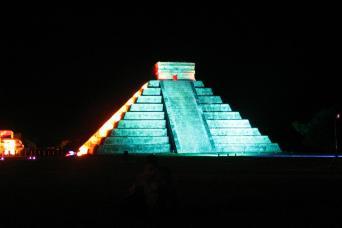 Chichen Itza Light & Sound Show From Cancun
