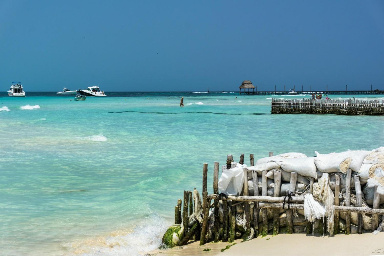 Chichen Itza Deluxe, Isla Mujeres & Dolphin Swim Combo Tour From Cancun
