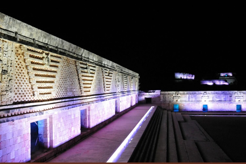 Uxmal Light & Sound Show From Merida
