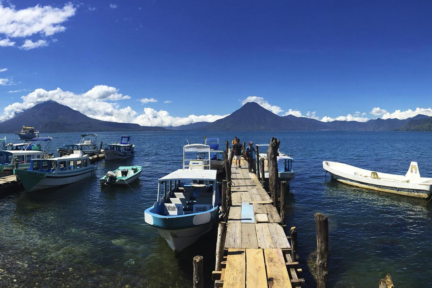 Lake Atitlan Tour with Boat to Santiago Full Day from Guatemala City