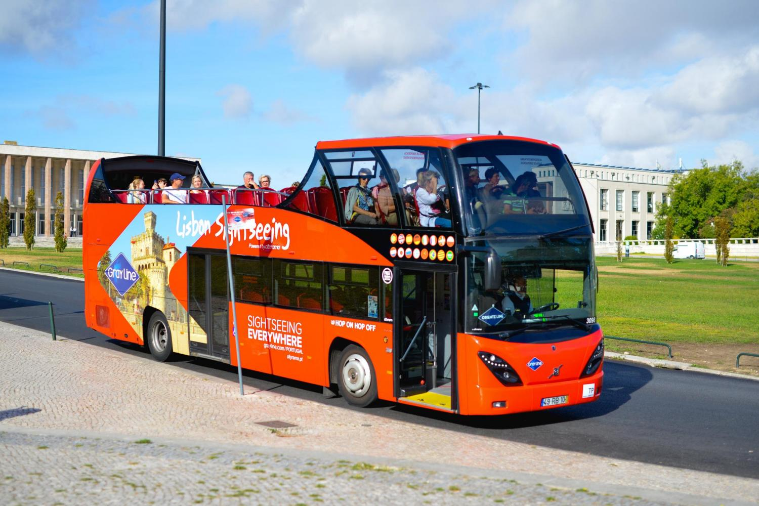 Lisbon Sightseeing Hop On Hop Off - All 4 Lines for Two Days - Belém,Oriente,Castle & Cascais Lines