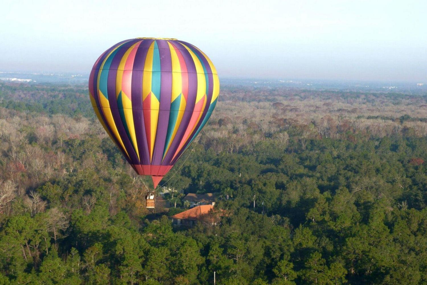 Sunrise Hot Air Balloon Adventure From Orlando