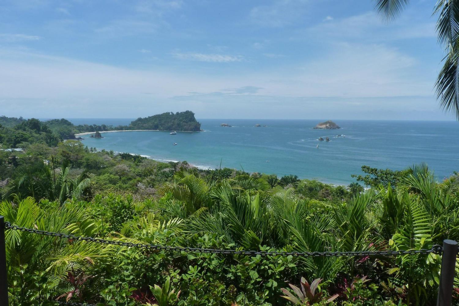Explore Manuel Antonio National Park with it's magnificent beaches and wildlife