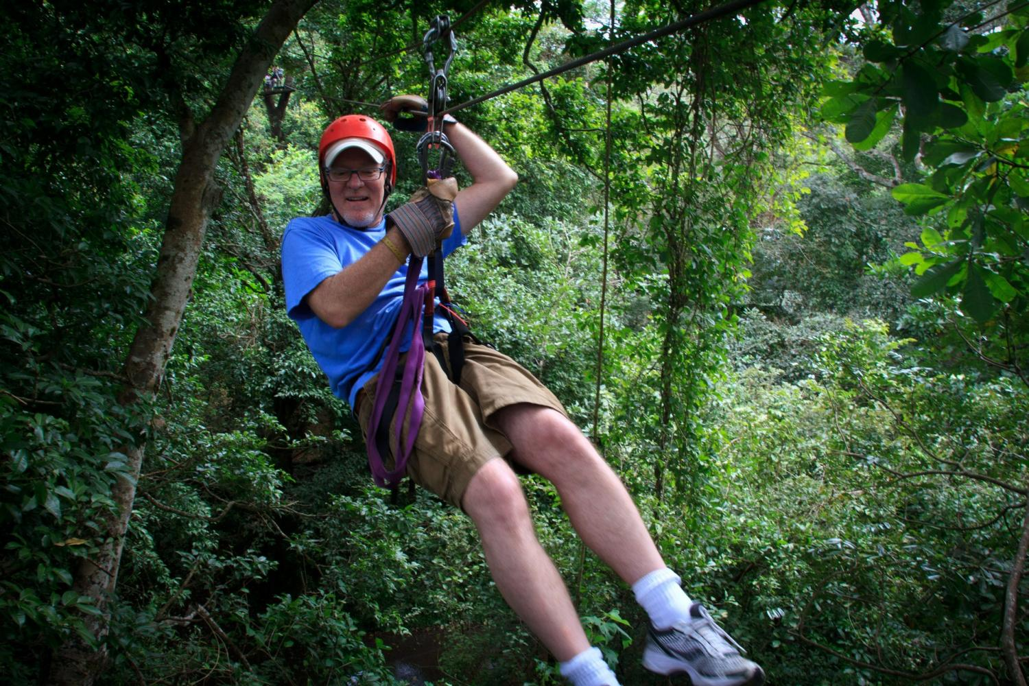 Enjoy a high-flying adventure through the canopies of Costa Rica