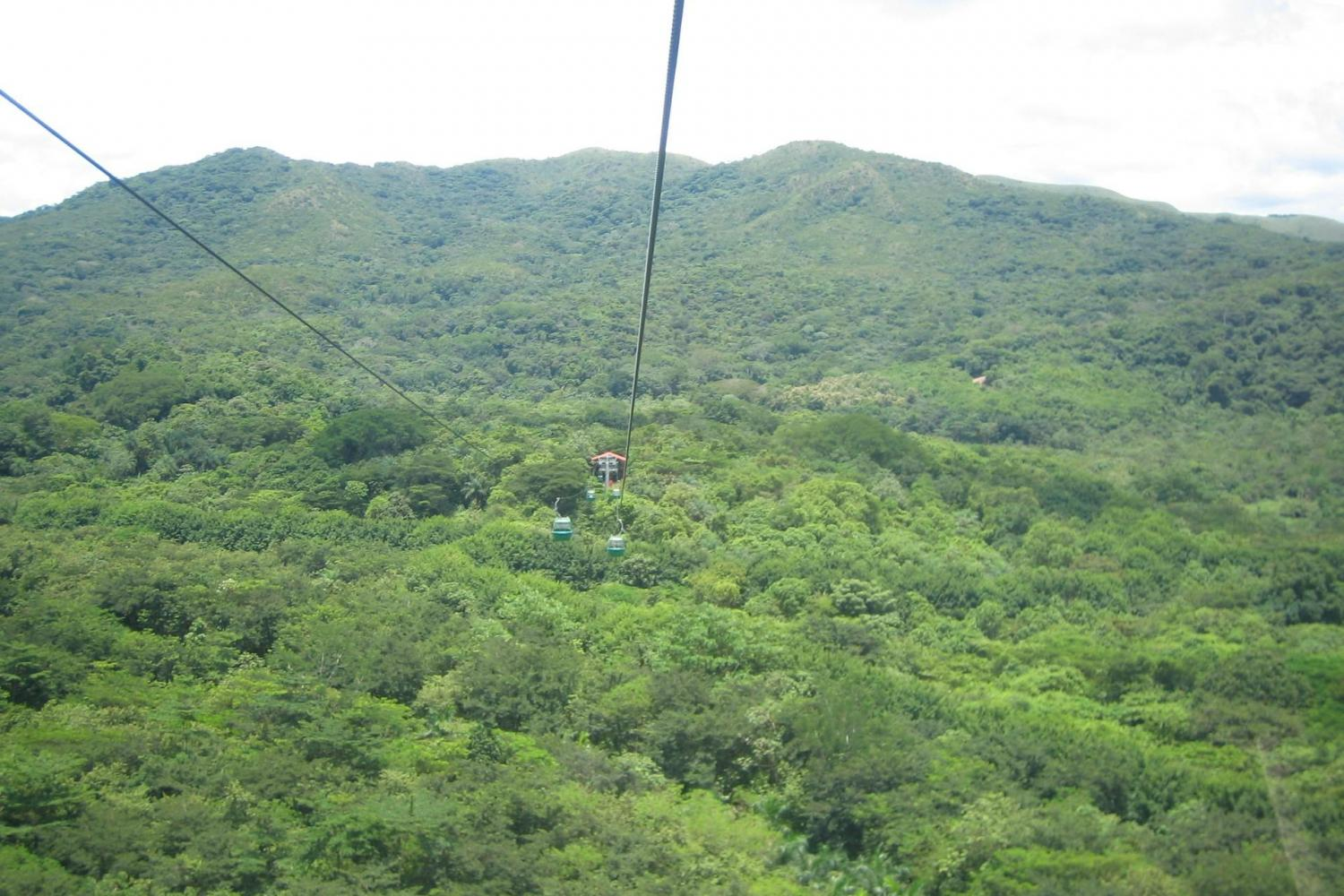 Soar over the jungle of Costa Rica for incredible views
