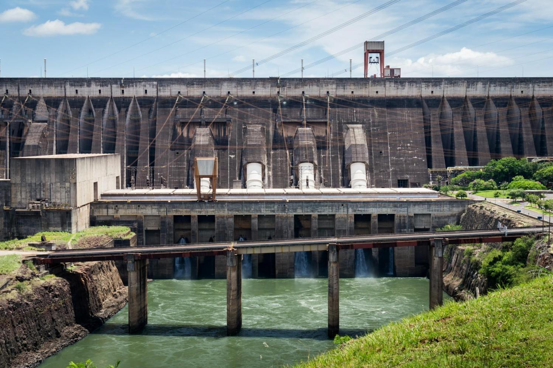 View this impressive dam situated in Iguassu