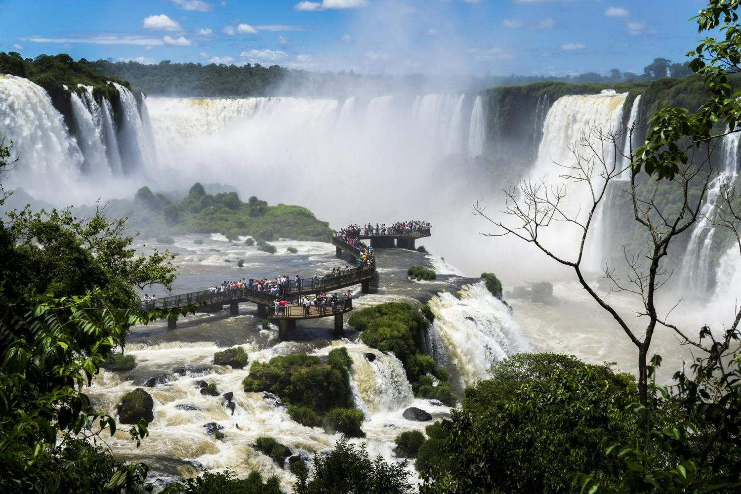 Iguazu Falls - Brazil side with Macuco, Helicopter Flight and Bird Park