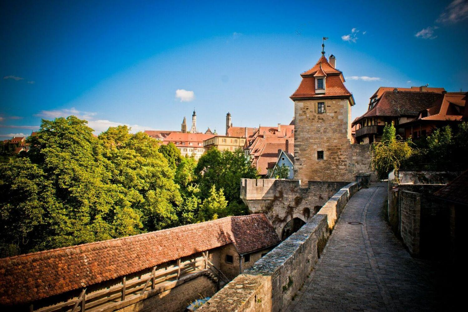 Fall in love with Germany on the Romantic Road from Harburg to Rothenburg