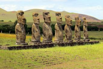 Gray Line Easter Island Shore Excursion - Half Day Ahu Akivi Archaeological Tour