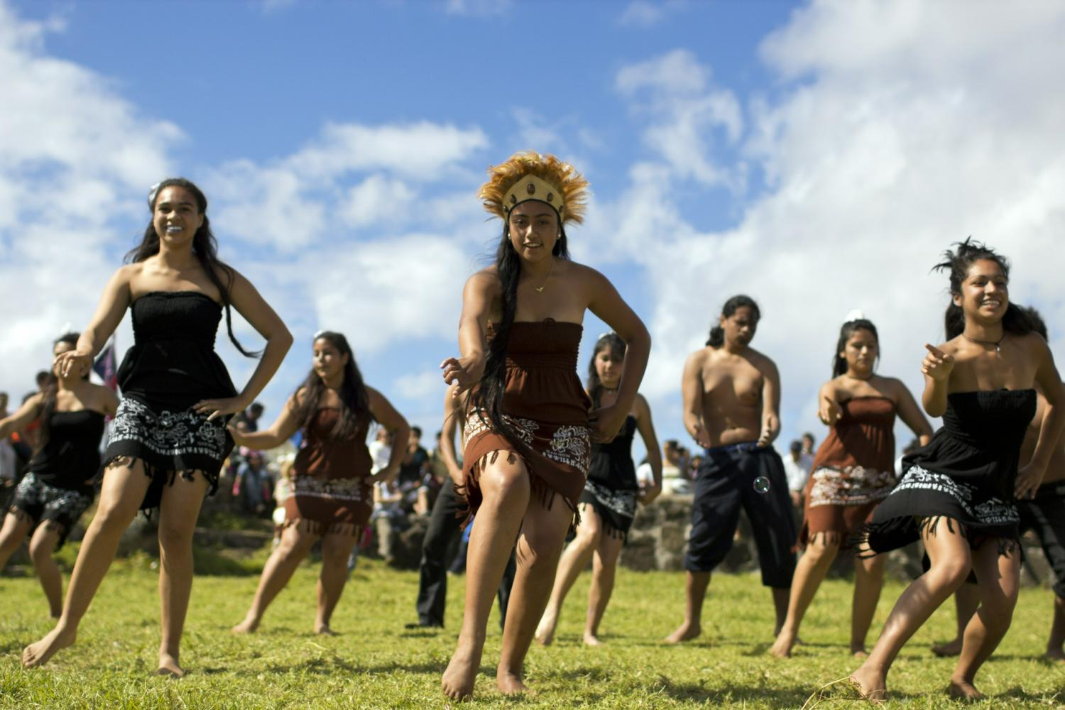 Discover the culture and cuisine of Rapa Nui!