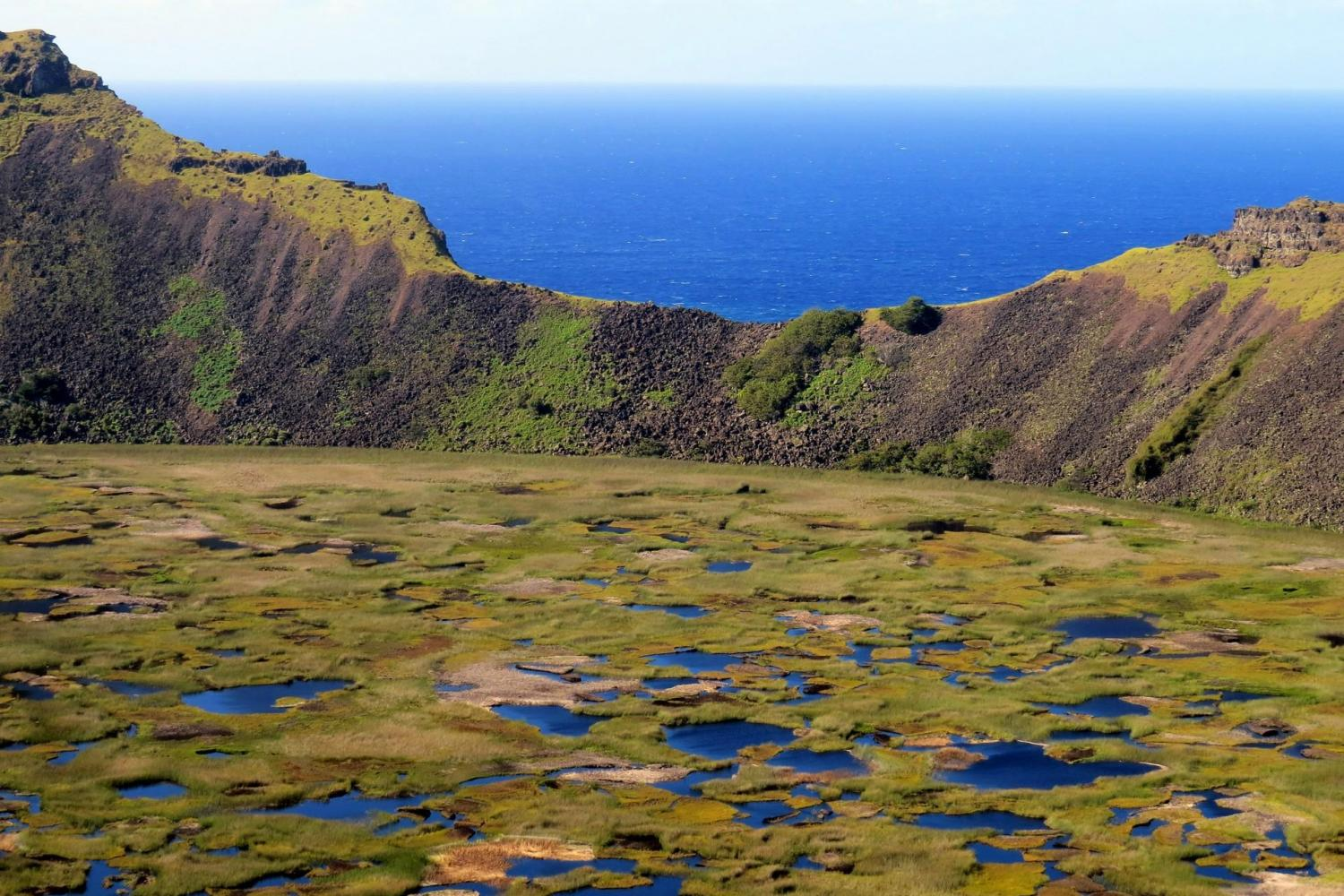 Easter Island Shore Excursion - Orongo & Rano Kau Half Day Tour