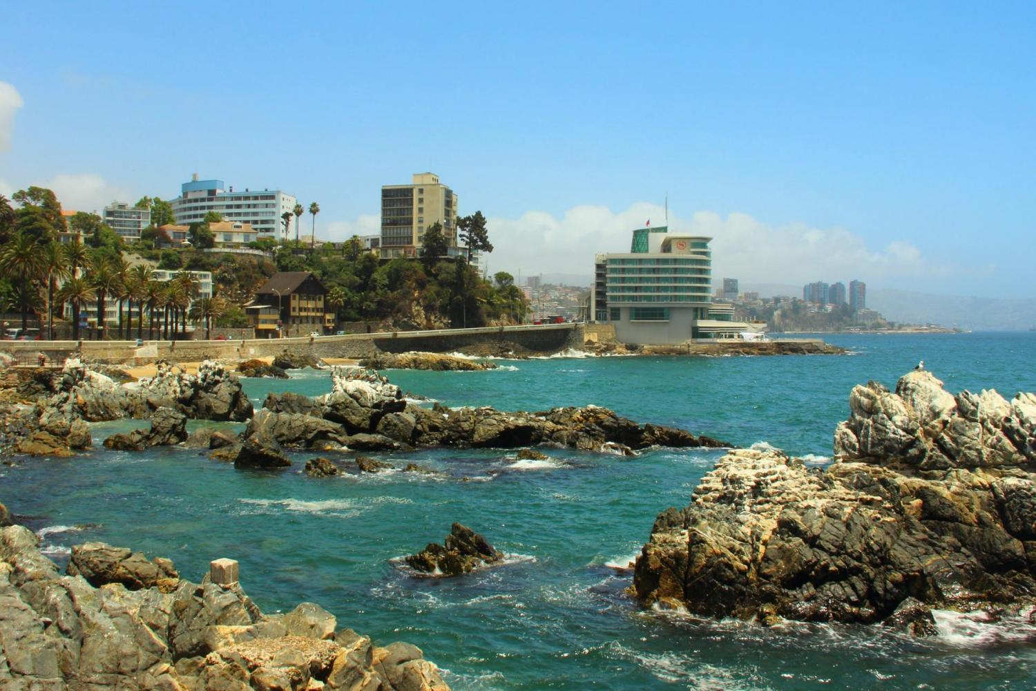 Viña del Mar to Reñaca: 4 hours tour across the Chilean pacific coast