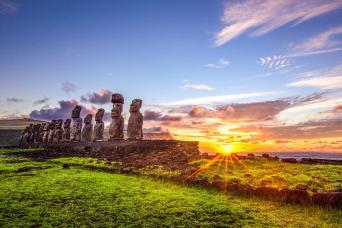 Gray Line Easter Island Shore Excursion - Full Day Tour, Ahu Tongariki, Rano Raraku and Anakena Beach