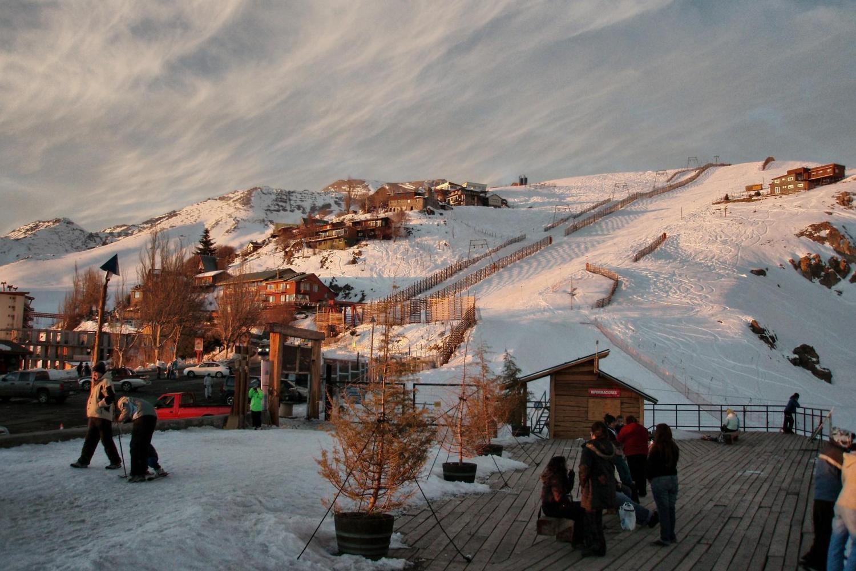 Farellones Ski resort