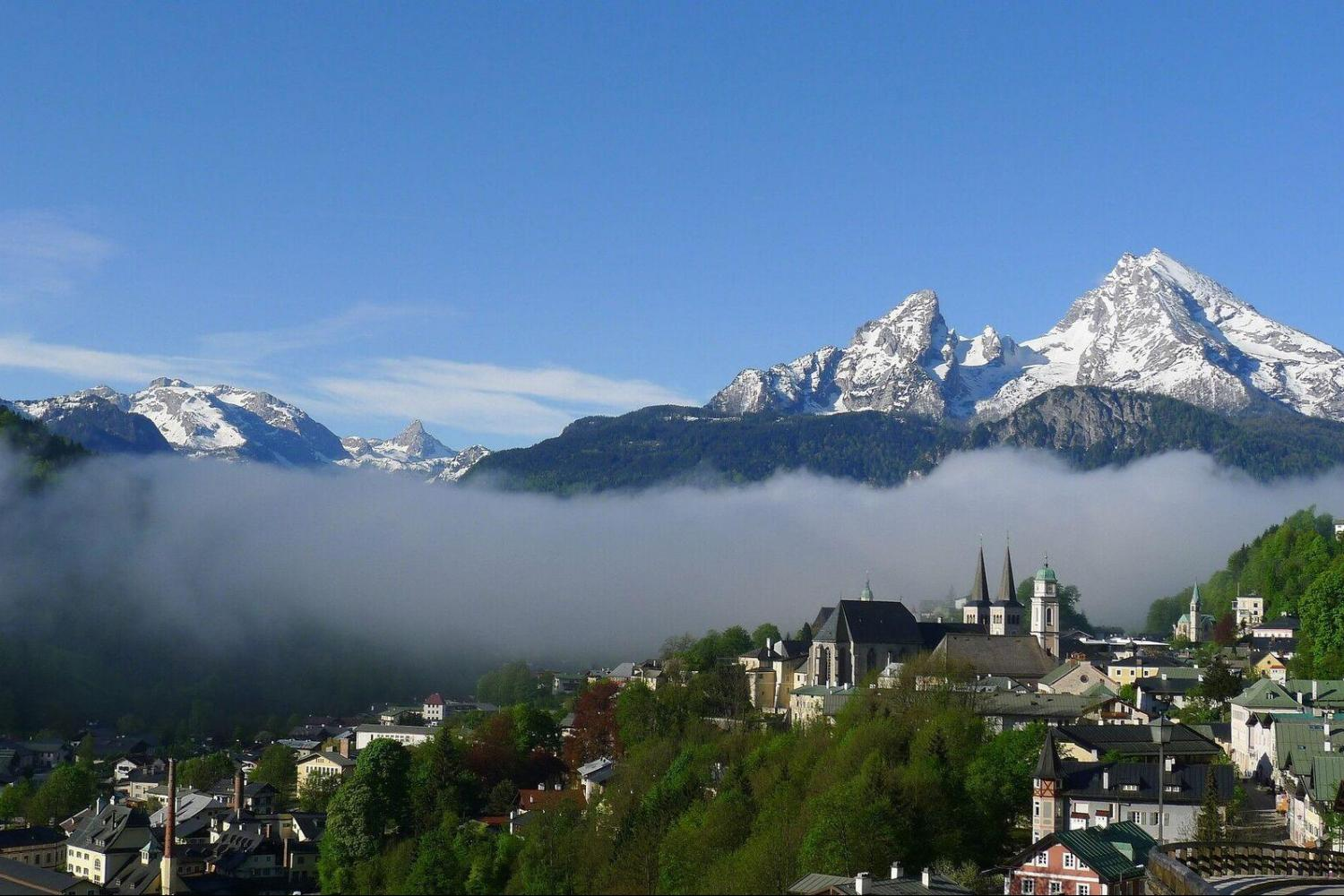 Travel high up into the Alps to the charming town of Berchtesgaden and ascend the Eagle's Nest