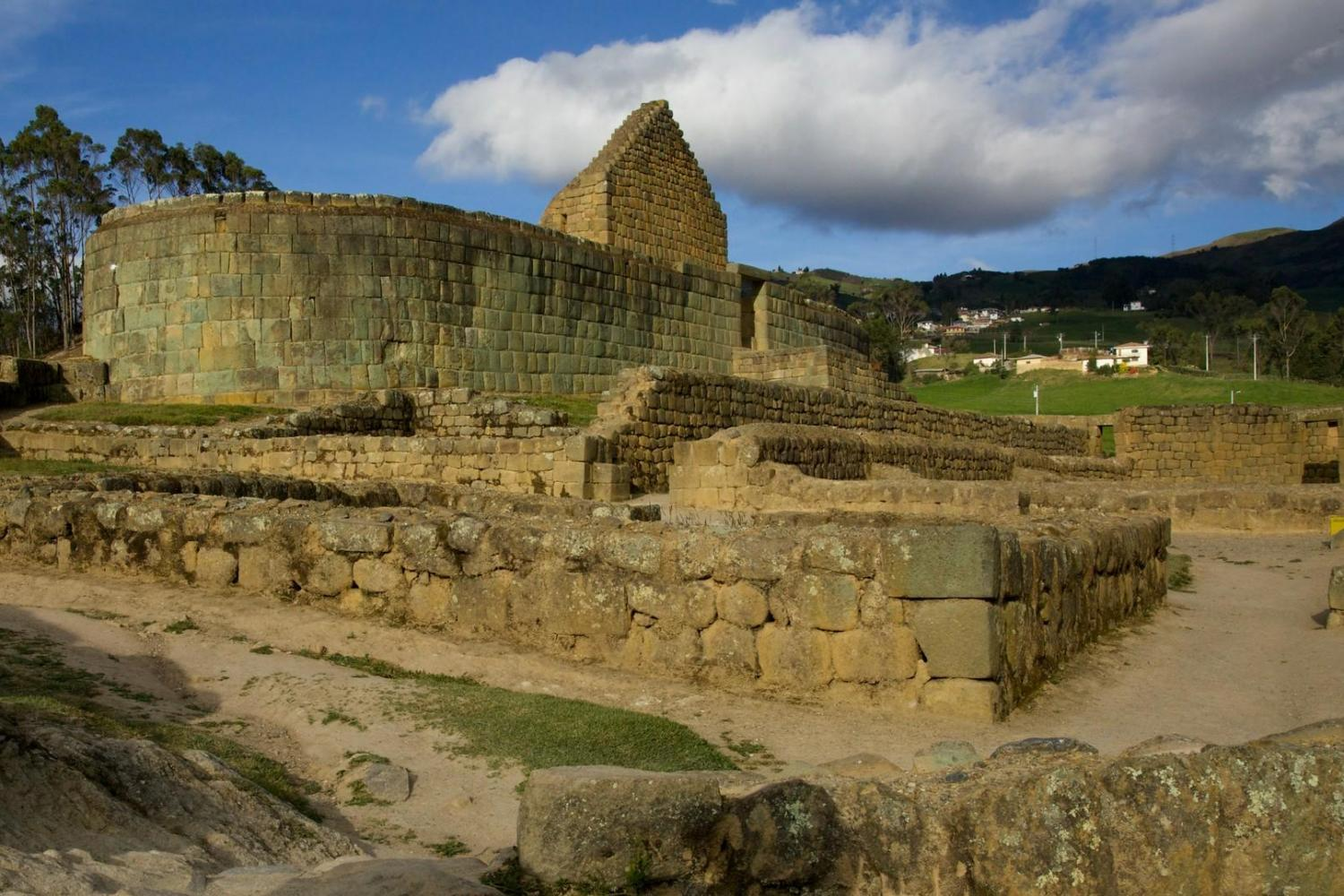 Excursion to the Ingapirca Inca Ruins and train