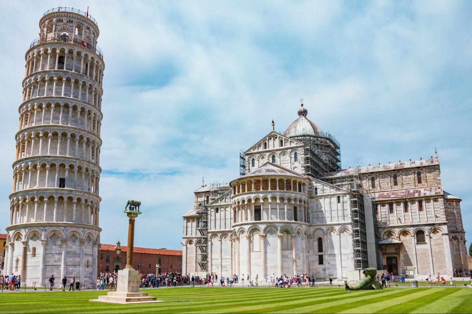 Skip-The-Line Pisa City Tour From Florence With Leaning Tower