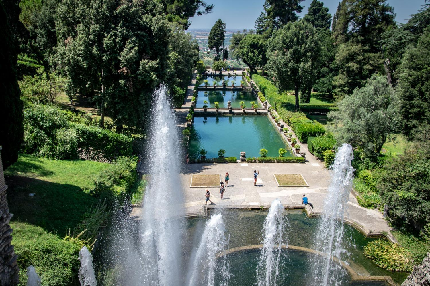 UNESCO Sites: Tivoli - Villa d'Este & Hadrian's Villa Day Trip From Rome