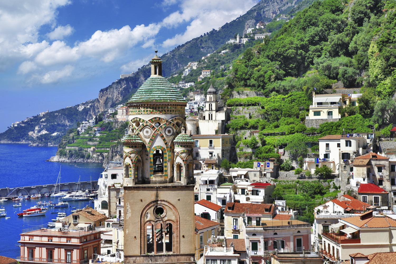Explore the beautiful Amalfi Coast