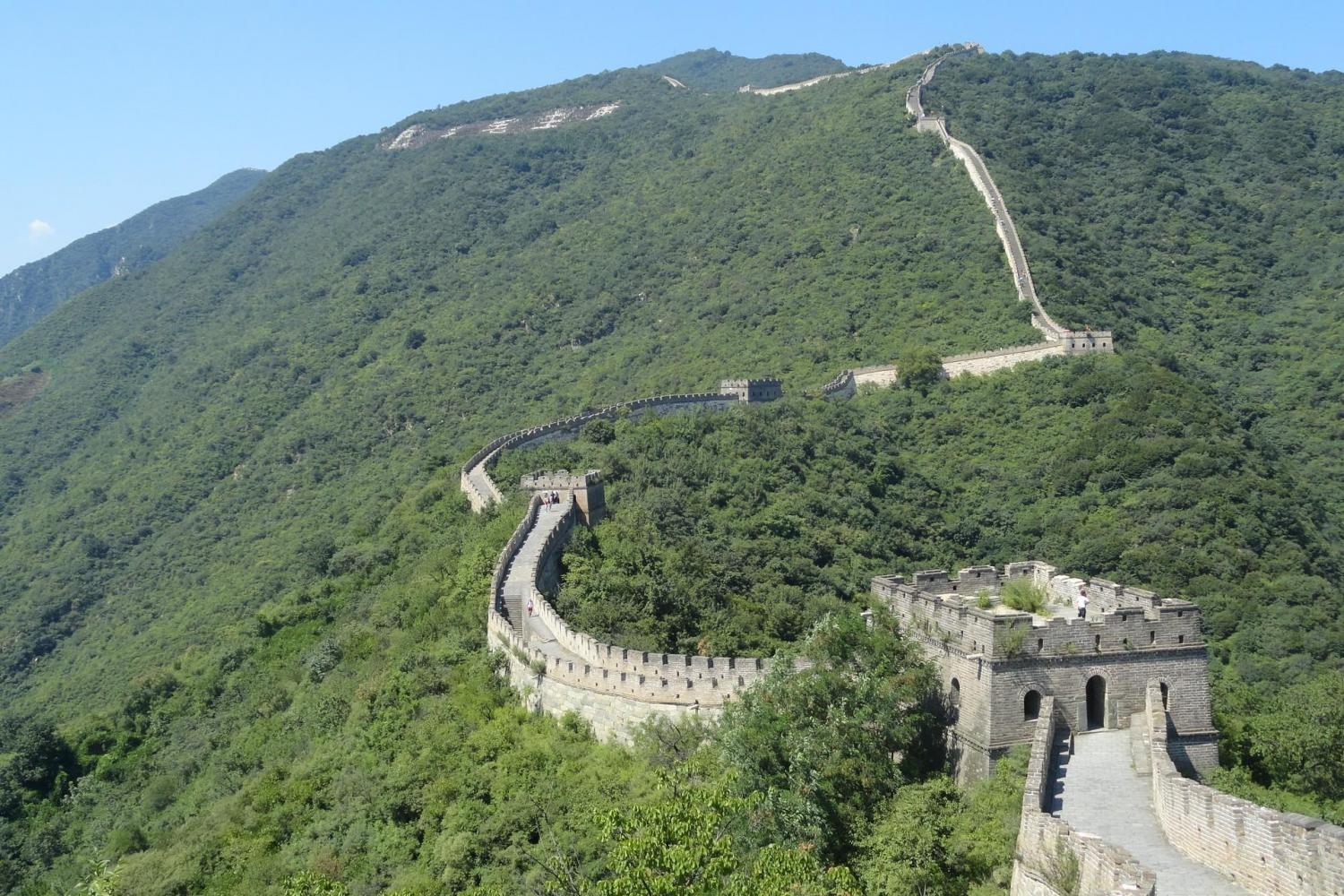 Mutianyu section of the Great Wall. A breathtaking experience!