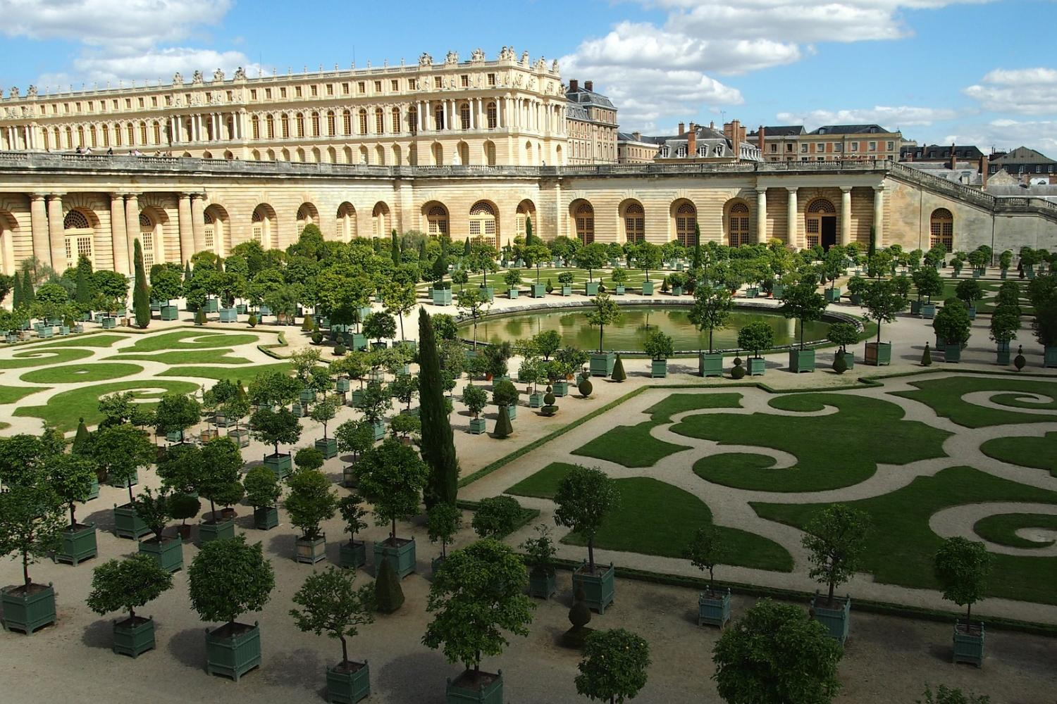 Visit the ornate halls of Versailles on a guided tour