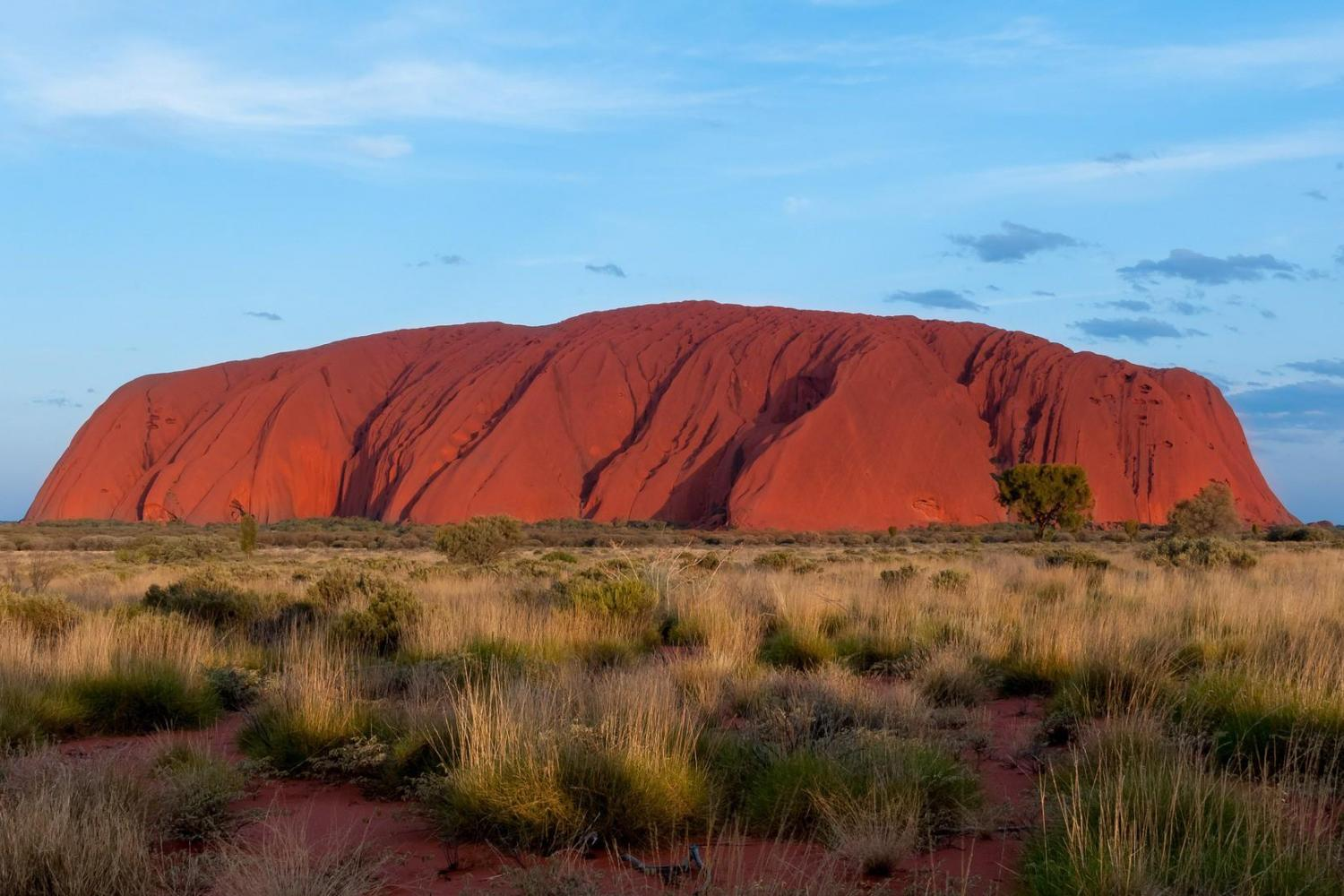 Take a complete circuit tour around the base of Uluru learning the geology and legends of the rock