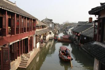 Gray Line Suzhou and Zhouzhuang Water Village Day Tour