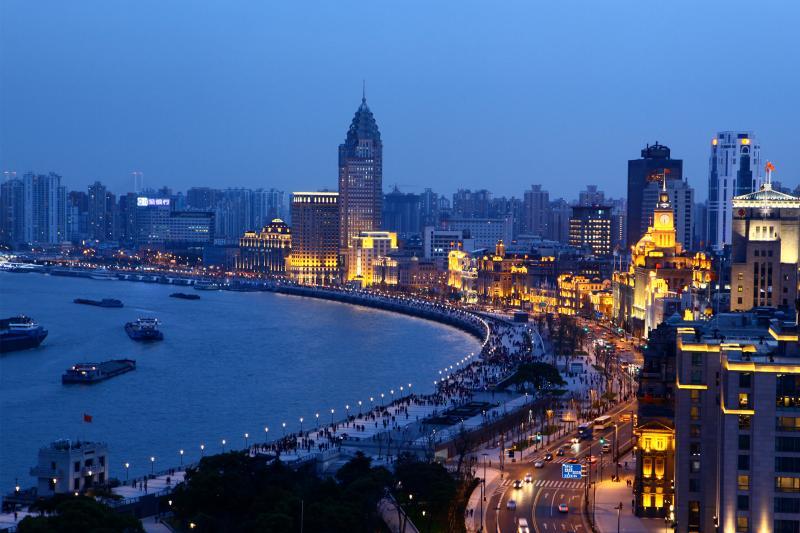 Evening City Lights and Huangpu River Cruise: Group Tour - Shanghai, China  | Gray Line
