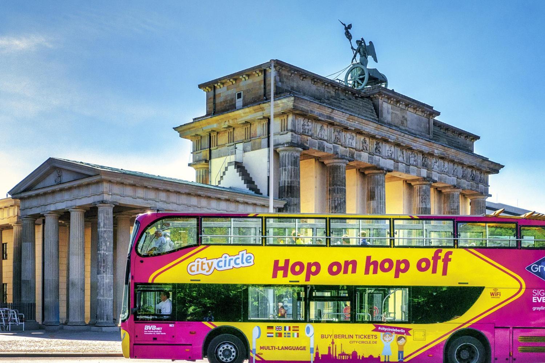 West Berlin 24 Hour Hop-On Hop-Off Tour
