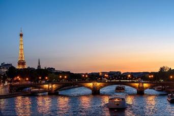 Paris Seine River Dinner Cruise