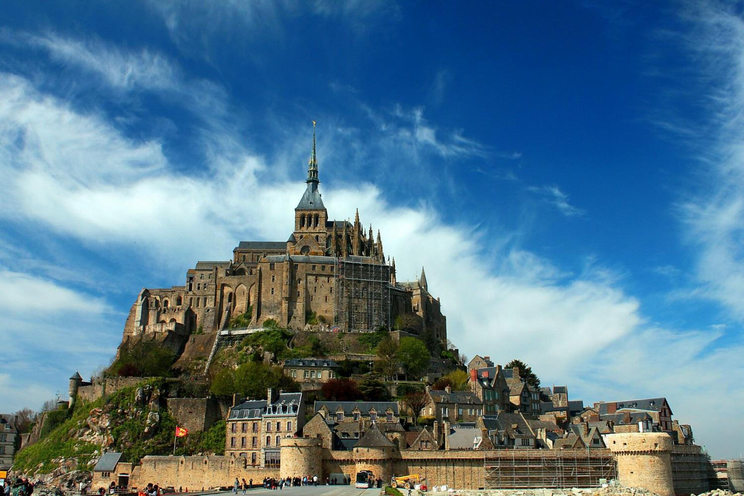 Visit the architectural masterpiece, the Abbey of Mont Saint Michel